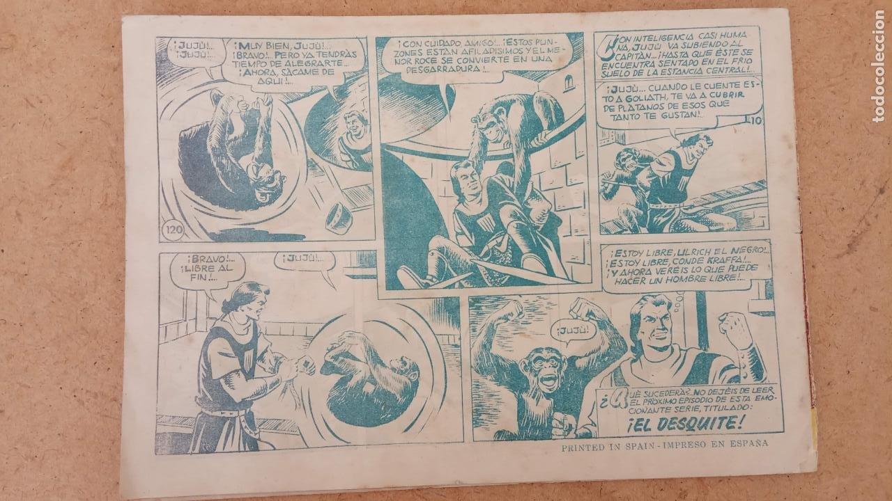 Tebeos: EL CAPITÀN TRUENO ORIGINAL AÑO 1956 COMPLETA Y SUELTA 1 AL 618 - VER TODAS LAS PORTADAS, MUY BUENA - Foto 461 - 204841075
