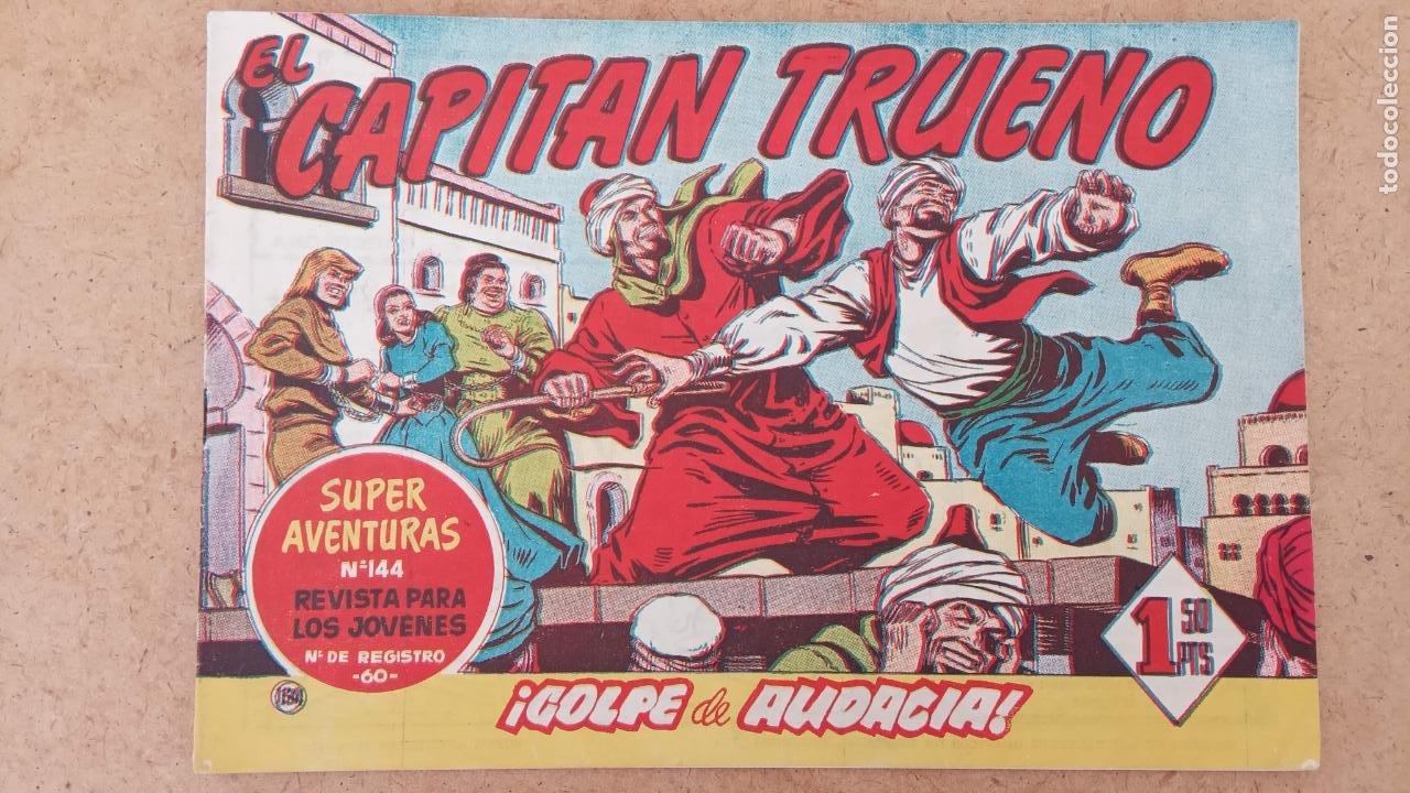 Tebeos: EL CAPITÀN TRUENO ORIGINAL AÑO 1956 COMPLETA Y SUELTA 1 AL 618 - VER TODAS LAS PORTADAS, MUY BUENA - Foto 463 - 204841075
