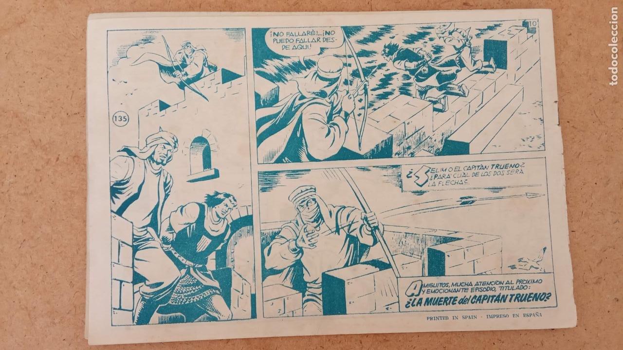 Tebeos: EL CAPITÀN TRUENO ORIGINAL AÑO 1956 COMPLETA Y SUELTA 1 AL 618 - VER TODAS LAS PORTADAS, MUY BUENA - Foto 466 - 204841075