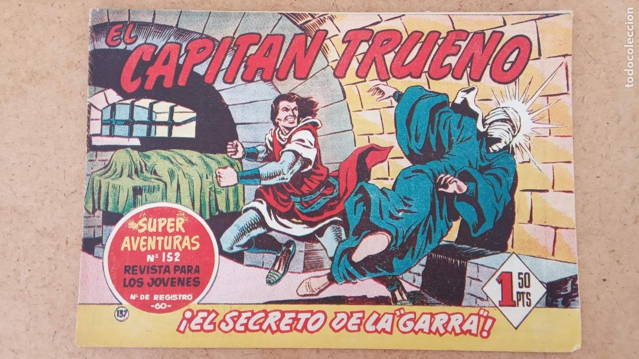 Tebeos: EL CAPITÀN TRUENO ORIGINAL AÑO 1956 COMPLETA Y SUELTA 1 AL 618 - VER TODAS LAS PORTADAS, MUY BUENA - Foto 469 - 204841075