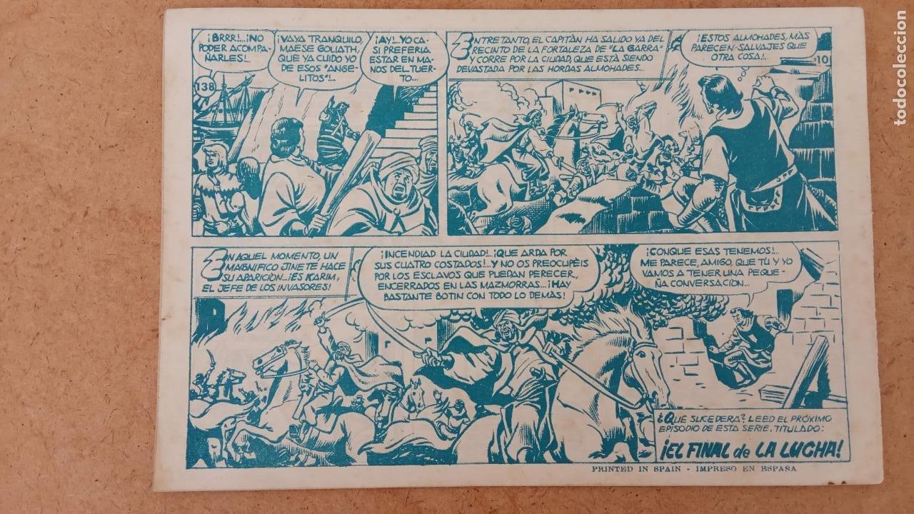 Tebeos: EL CAPITÀN TRUENO ORIGINAL AÑO 1956 COMPLETA Y SUELTA 1 AL 618 - VER TODAS LAS PORTADAS, MUY BUENA - Foto 472 - 204841075