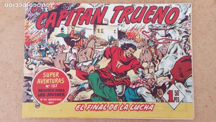 Tebeos: EL CAPITÀN TRUENO ORIGINAL AÑO 1956 COMPLETA Y SUELTA 1 AL 618 - VER TODAS LAS PORTADAS, MUY BUENA - Foto 473 - 204841075