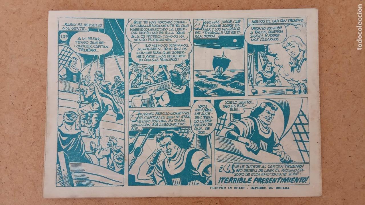 Tebeos: EL CAPITÀN TRUENO ORIGINAL AÑO 1956 COMPLETA Y SUELTA 1 AL 618 - VER TODAS LAS PORTADAS, MUY BUENA - Foto 474 - 204841075
