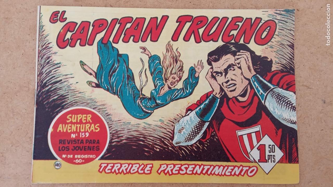 Tebeos: EL CAPITÀN TRUENO ORIGINAL AÑO 1956 COMPLETA Y SUELTA 1 AL 618 - VER TODAS LAS PORTADAS, MUY BUENA - Foto 475 - 204841075