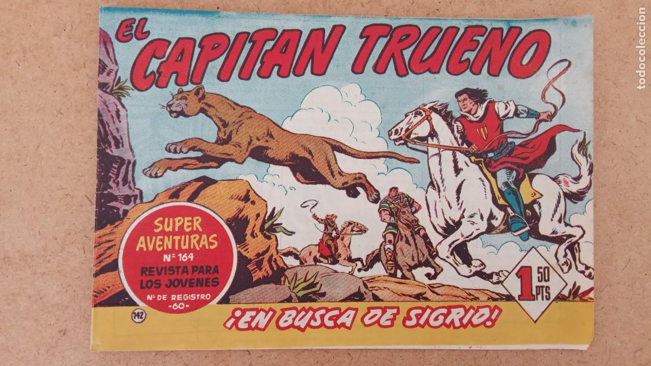 Tebeos: EL CAPITÀN TRUENO ORIGINAL AÑO 1956 COMPLETA Y SUELTA 1 AL 618 - VER TODAS LAS PORTADAS, MUY BUENA - Foto 479 - 204841075