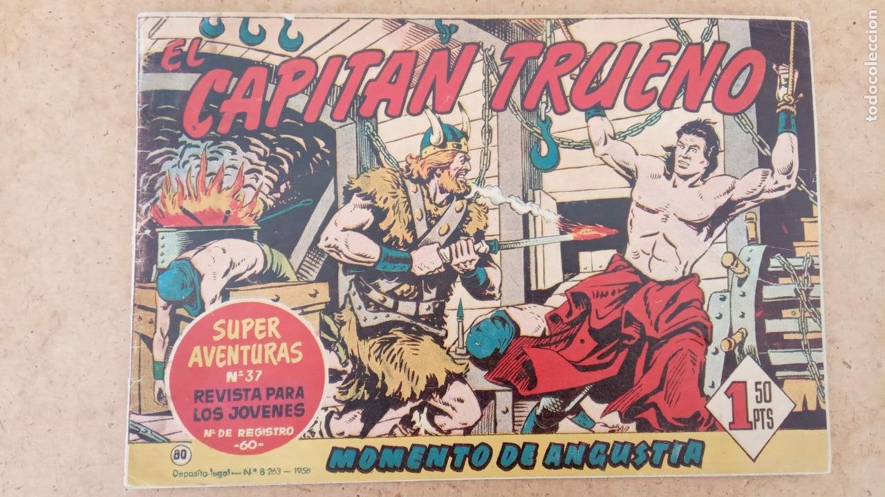 Tebeos: EL CAPITÀN TRUENO ORIGINAL AÑO 1956 COMPLETA Y SUELTA 1 AL 618 - VER TODAS LAS PORTADAS, MUY BUENA - Foto 480 - 204841075