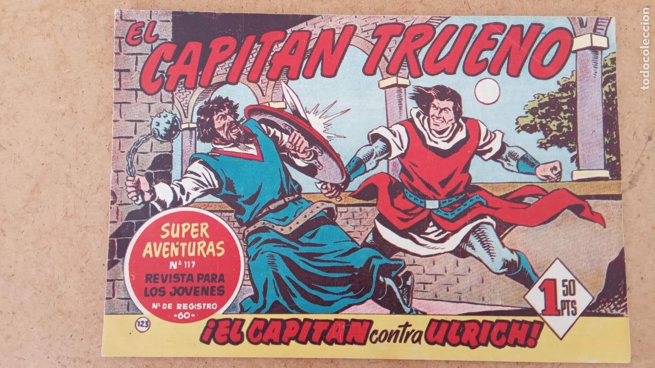 Tebeos: EL CAPITÀN TRUENO ORIGINAL AÑO 1956 COMPLETA Y SUELTA 1 AL 618 - VER TODAS LAS PORTADAS, MUY BUENA - Foto 486 - 204841075