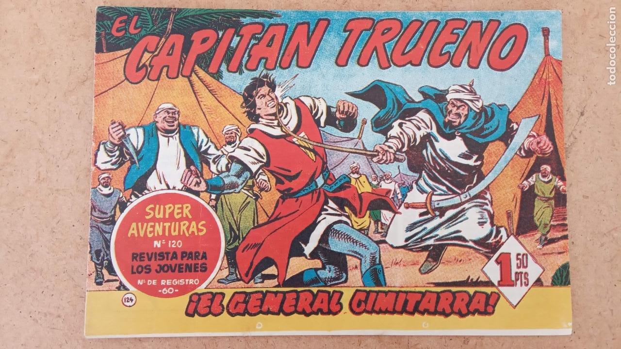 Tebeos: EL CAPITÀN TRUENO ORIGINAL AÑO 1956 COMPLETA Y SUELTA 1 AL 618 - VER TODAS LAS PORTADAS, MUY BUENA - Foto 487 - 204841075