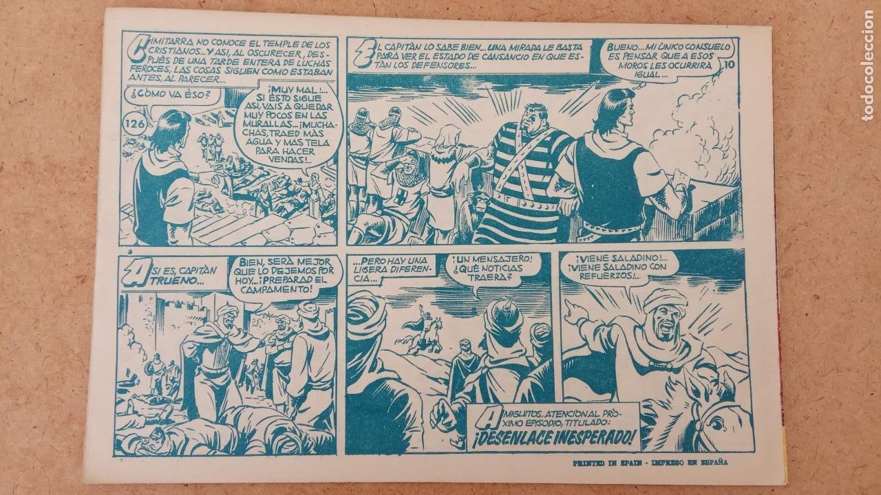 Tebeos: EL CAPITÀN TRUENO ORIGINAL AÑO 1956 COMPLETA Y SUELTA 1 AL 618 - VER TODAS LAS PORTADAS, MUY BUENA - Foto 491 - 204841075
