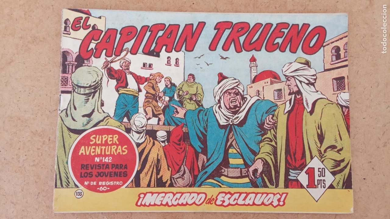 Tebeos: EL CAPITÀN TRUENO ORIGINAL AÑO 1956 COMPLETA Y SUELTA 1 AL 618 - VER TODAS LAS PORTADAS, MUY BUENA - Foto 503 - 204841075