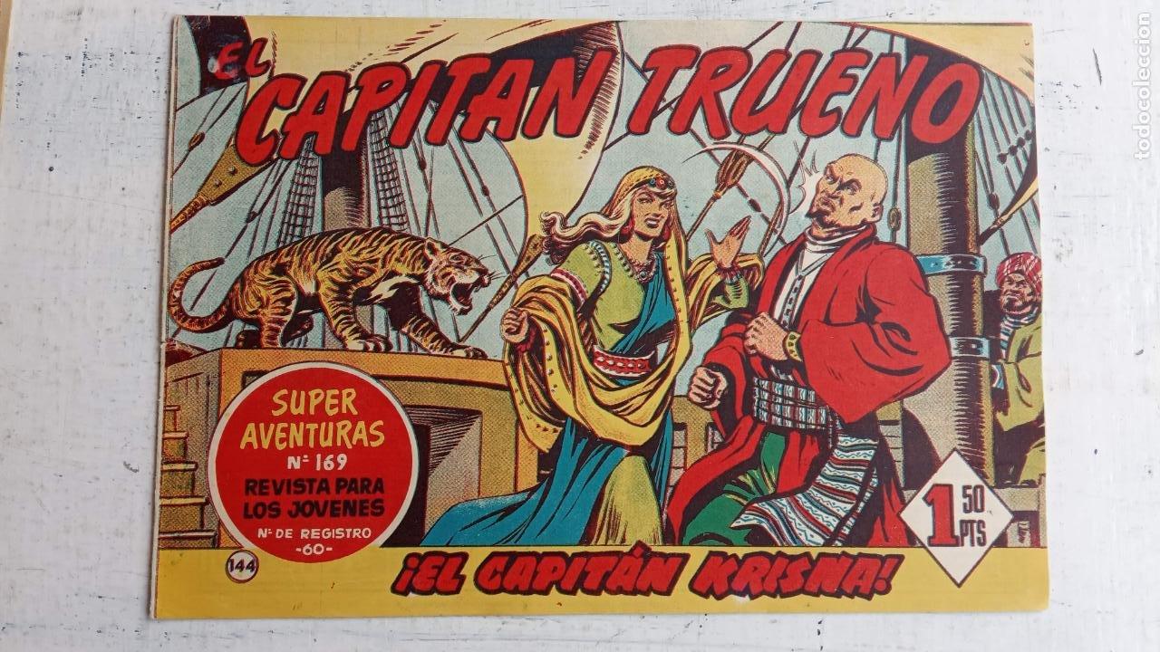 Tebeos: EL CAPITÀN TRUENO ORIGINAL AÑO 1956 COMPLETA Y SUELTA 1 AL 618 - VER TODAS LAS PORTADAS, MUY BUENA - Foto 506 - 204841075