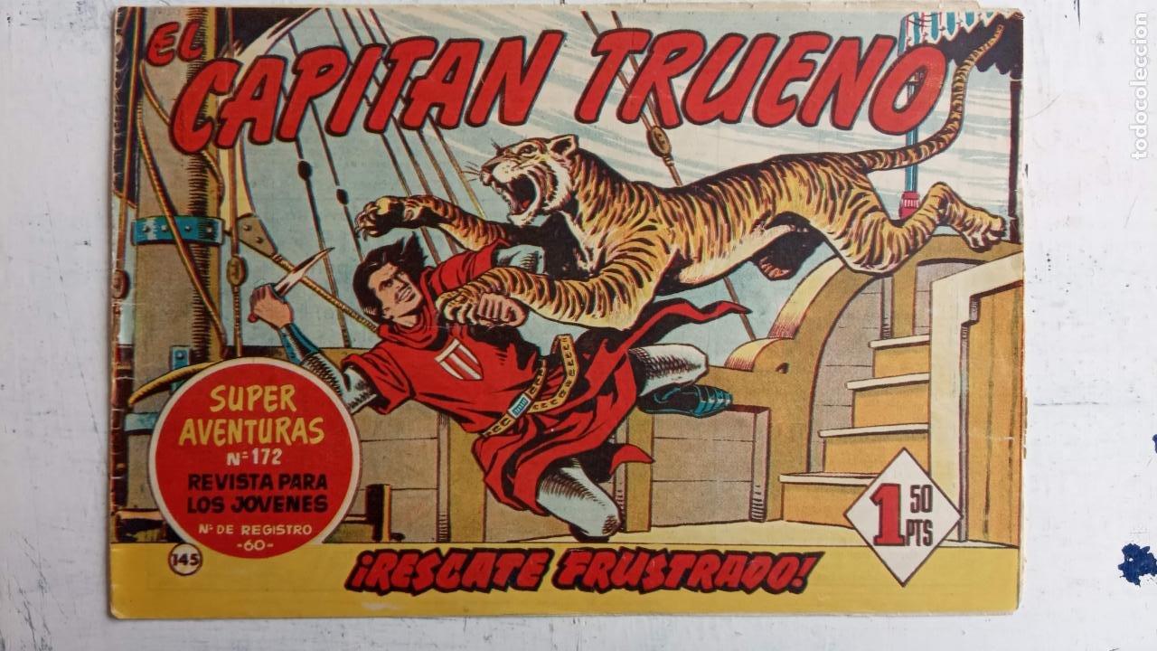 Tebeos: EL CAPITÀN TRUENO ORIGINAL AÑO 1956 COMPLETA Y SUELTA 1 AL 618 - VER TODAS LAS PORTADAS, MUY BUENA - Foto 507 - 204841075