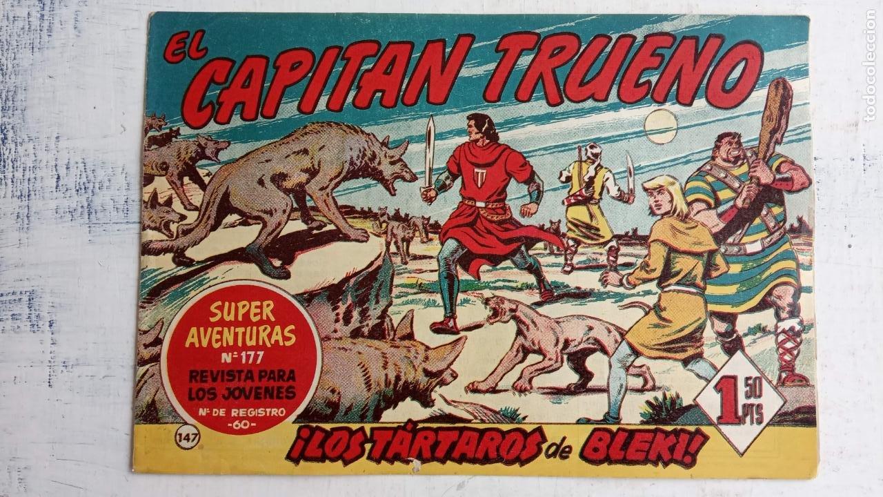 Tebeos: EL CAPITÀN TRUENO ORIGINAL AÑO 1956 COMPLETA Y SUELTA 1 AL 618 - VER TODAS LAS PORTADAS, MUY BUENA - Foto 509 - 204841075
