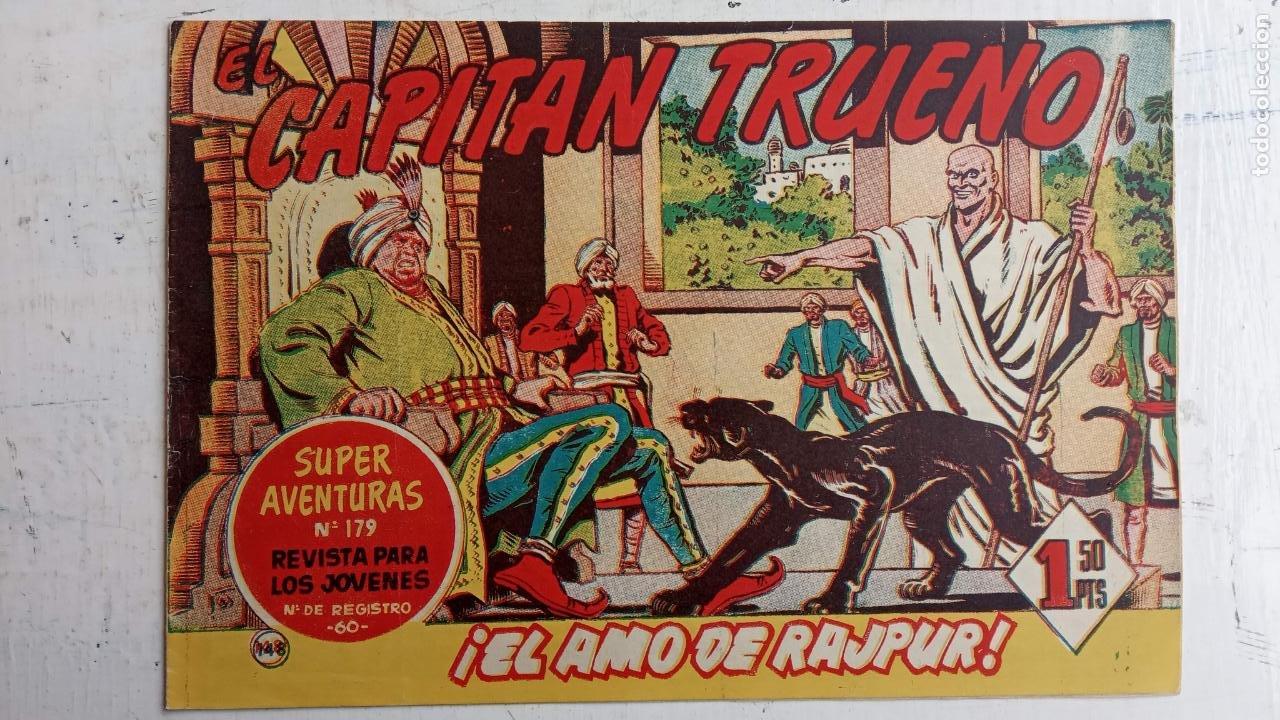 Tebeos: EL CAPITÀN TRUENO ORIGINAL AÑO 1956 COMPLETA Y SUELTA 1 AL 618 - VER TODAS LAS PORTADAS, MUY BUENA - Foto 510 - 204841075