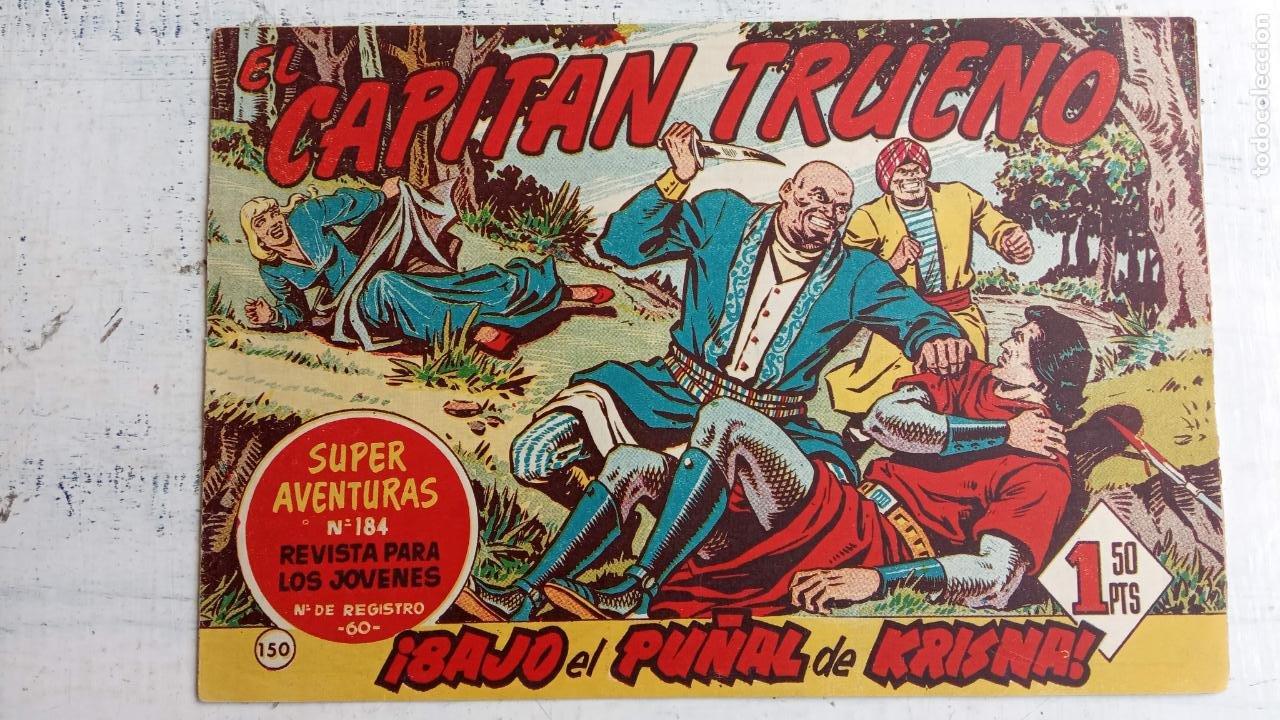 Tebeos: EL CAPITÀN TRUENO ORIGINAL AÑO 1956 COMPLETA Y SUELTA 1 AL 618 - VER TODAS LAS PORTADAS, MUY BUENA - Foto 512 - 204841075
