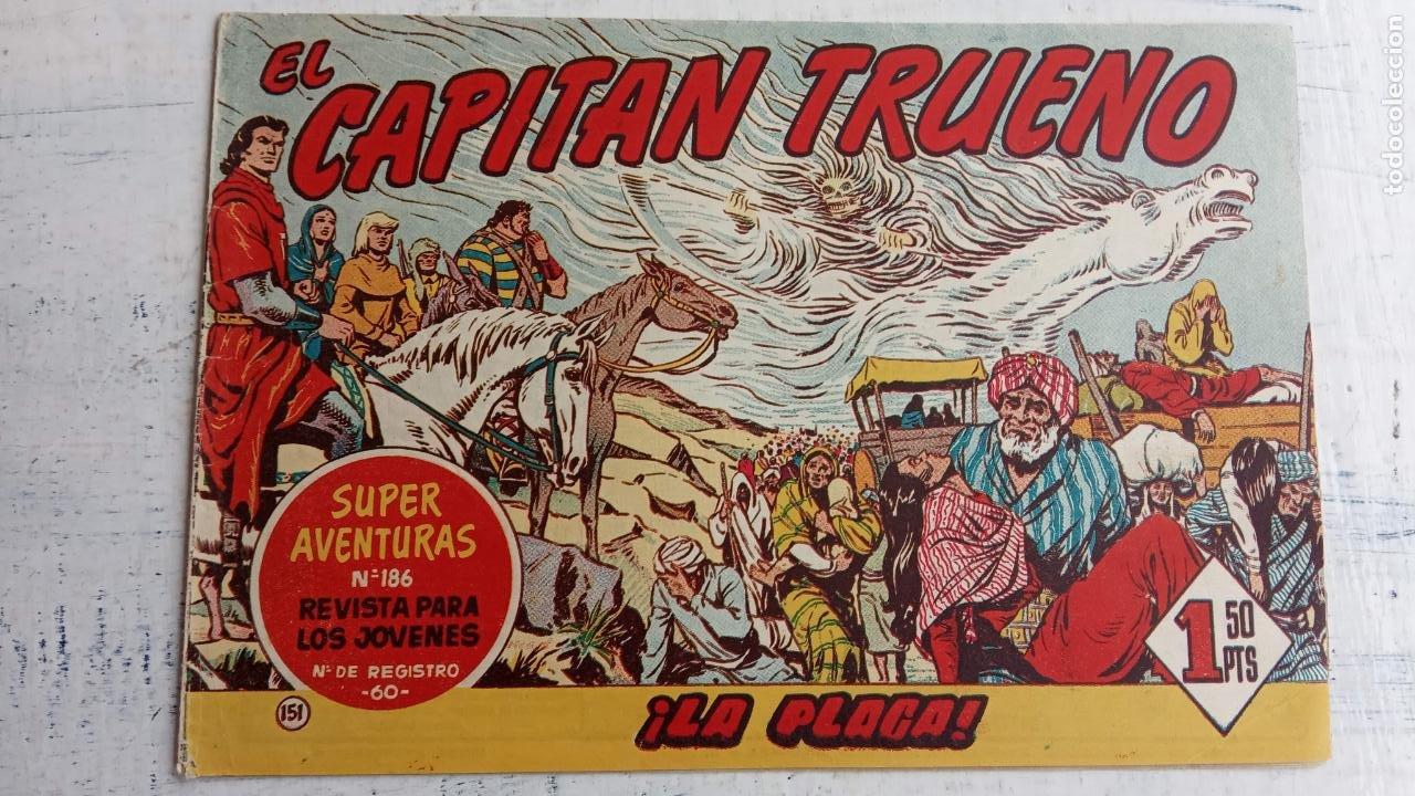 Tebeos: EL CAPITÀN TRUENO ORIGINAL AÑO 1956 COMPLETA Y SUELTA 1 AL 618 - VER TODAS LAS PORTADAS, MUY BUENA - Foto 513 - 204841075
