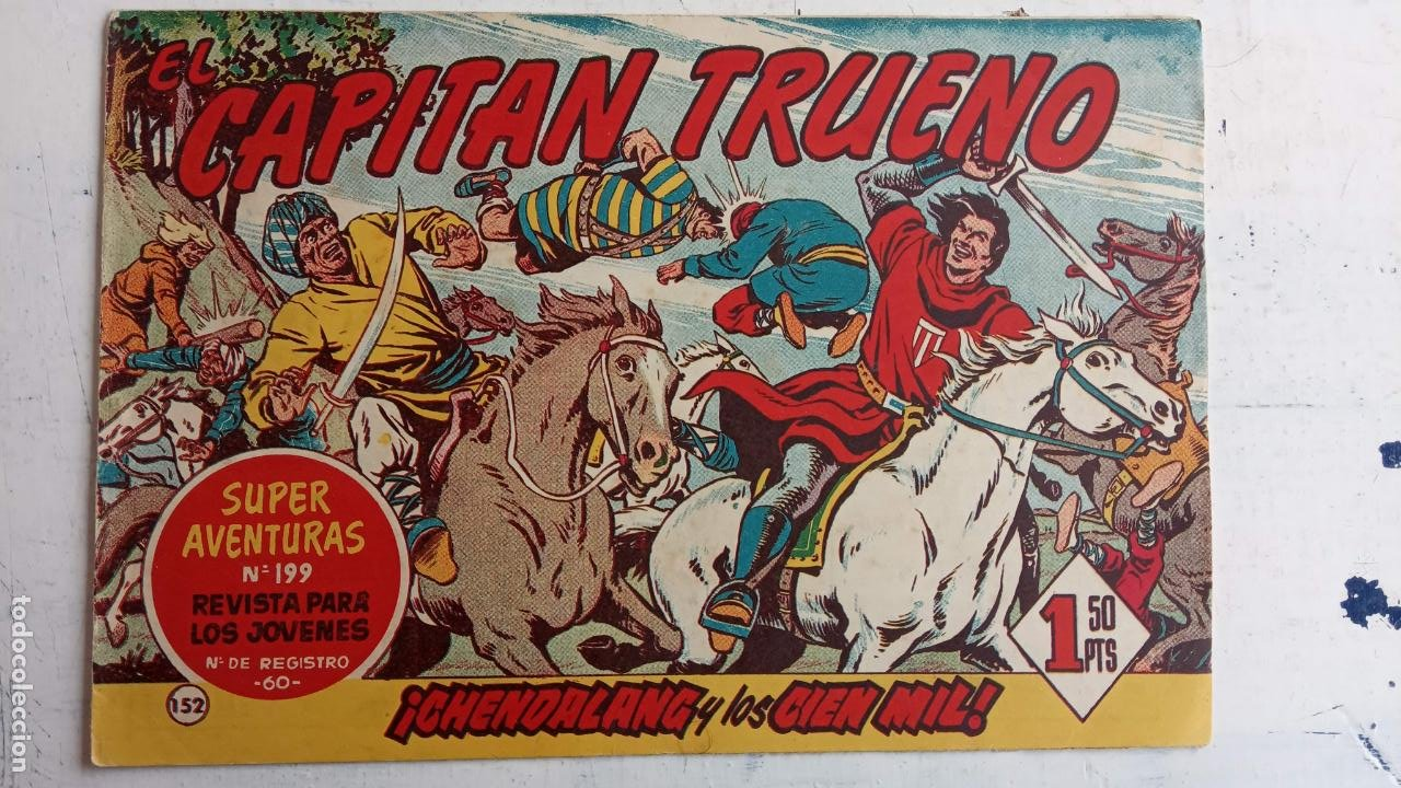Tebeos: EL CAPITÀN TRUENO ORIGINAL AÑO 1956 COMPLETA Y SUELTA 1 AL 618 - VER TODAS LAS PORTADAS, MUY BUENA - Foto 514 - 204841075