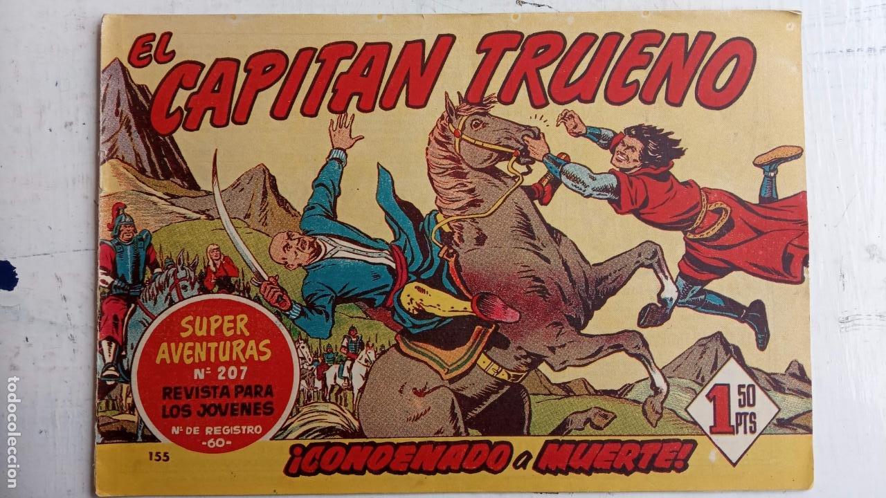 Tebeos: EL CAPITÀN TRUENO ORIGINAL AÑO 1956 COMPLETA Y SUELTA 1 AL 618 - VER TODAS LAS PORTADAS, MUY BUENA - Foto 517 - 204841075
