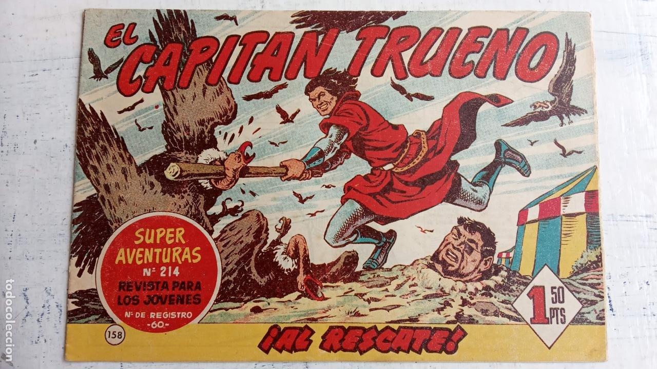 Tebeos: EL CAPITÀN TRUENO ORIGINAL AÑO 1956 COMPLETA Y SUELTA 1 AL 618 - VER TODAS LAS PORTADAS, MUY BUENA - Foto 520 - 204841075