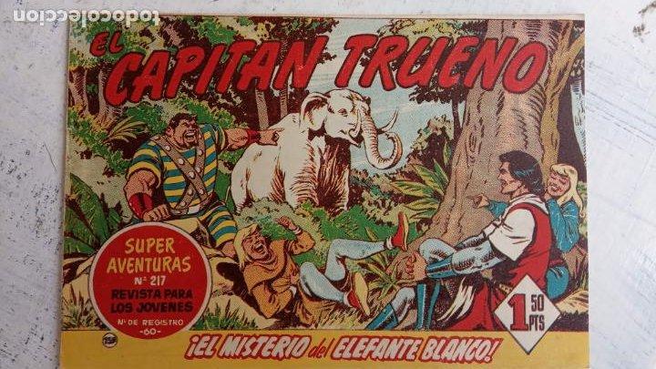Tebeos: EL CAPITÀN TRUENO ORIGINAL AÑO 1956 COMPLETA Y SUELTA 1 AL 618 - VER TODAS LAS PORTADAS, MUY BUENA - Foto 521 - 204841075