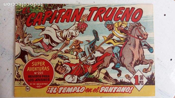 Tebeos: EL CAPITÀN TRUENO ORIGINAL AÑO 1956 COMPLETA Y SUELTA 1 AL 618 - VER TODAS LAS PORTADAS, MUY BUENA - Foto 522 - 204841075