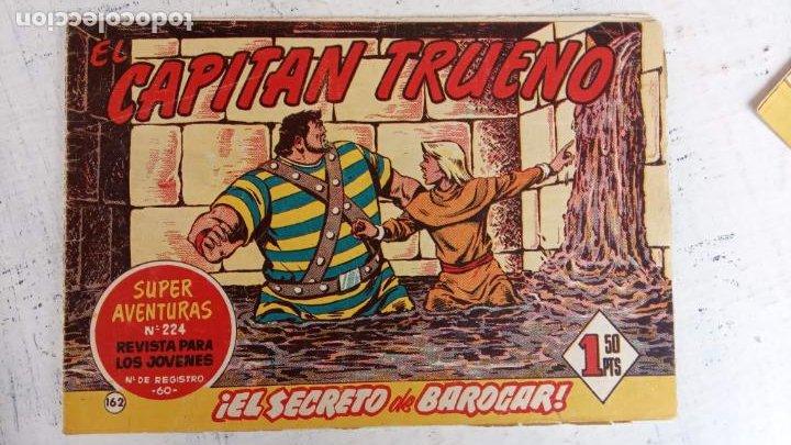 Tebeos: EL CAPITÀN TRUENO ORIGINAL AÑO 1956 COMPLETA Y SUELTA 1 AL 618 - VER TODAS LAS PORTADAS, MUY BUENA - Foto 523 - 204841075