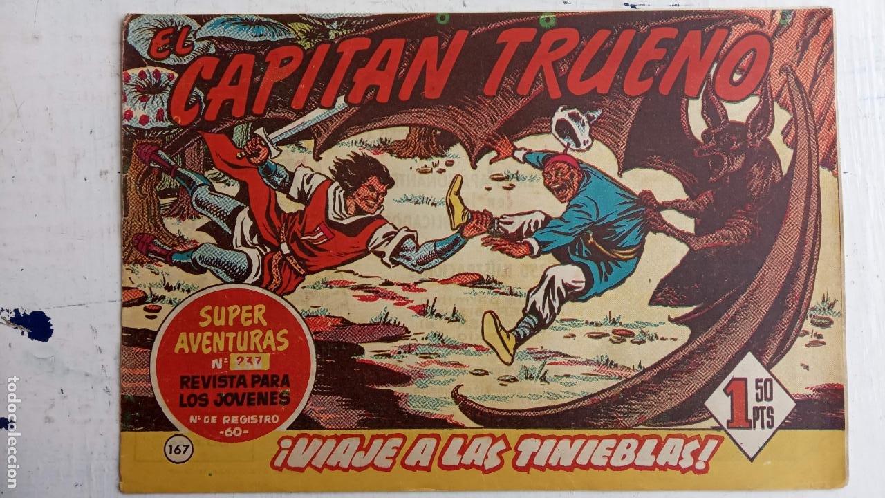 Tebeos: EL CAPITÀN TRUENO ORIGINAL AÑO 1956 COMPLETA Y SUELTA 1 AL 618 - VER TODAS LAS PORTADAS, MUY BUENA - Foto 528 - 204841075
