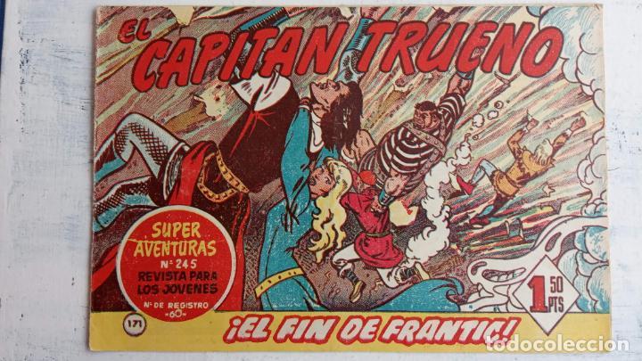 Tebeos: EL CAPITÀN TRUENO ORIGINAL AÑO 1956 COMPLETA Y SUELTA 1 AL 618 - VER TODAS LAS PORTADAS, MUY BUENA - Foto 532 - 204841075