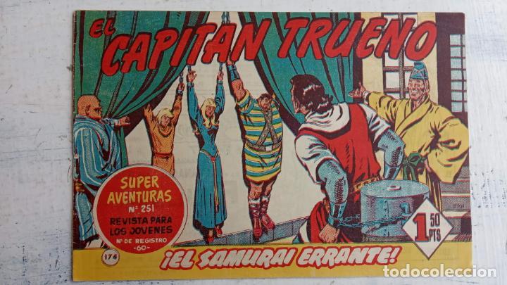 Tebeos: EL CAPITÀN TRUENO ORIGINAL AÑO 1956 COMPLETA Y SUELTA 1 AL 618 - VER TODAS LAS PORTADAS, MUY BUENA - Foto 535 - 204841075