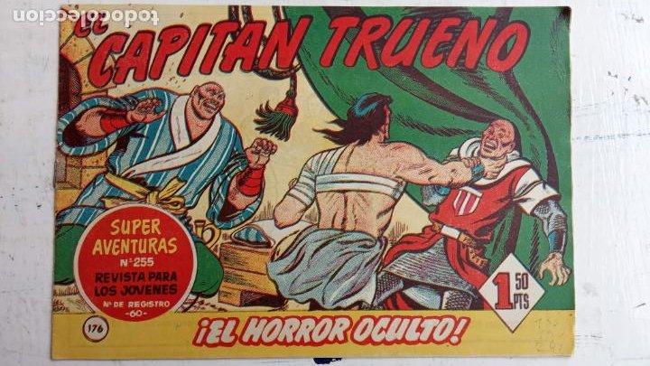 Tebeos: EL CAPITÀN TRUENO ORIGINAL AÑO 1956 COMPLETA Y SUELTA 1 AL 618 - VER TODAS LAS PORTADAS, MUY BUENA - Foto 537 - 204841075