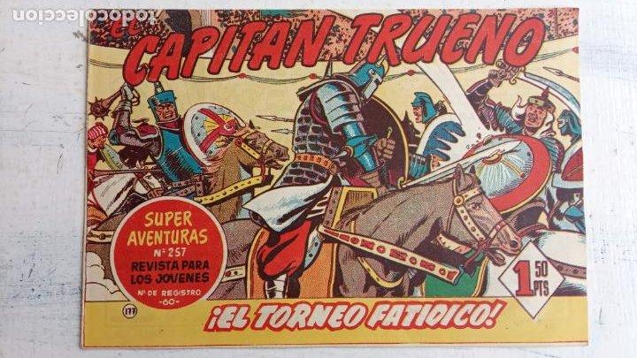 Tebeos: EL CAPITÀN TRUENO ORIGINAL AÑO 1956 COMPLETA Y SUELTA 1 AL 618 - VER TODAS LAS PORTADAS, MUY BUENA - Foto 538 - 204841075