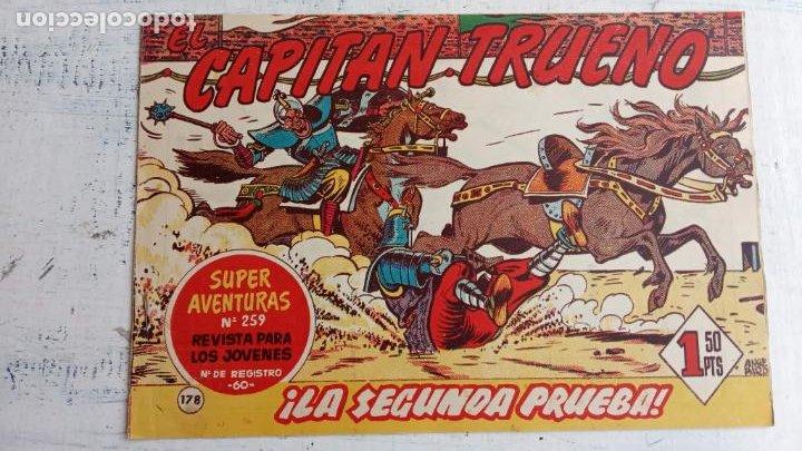 Tebeos: EL CAPITÀN TRUENO ORIGINAL AÑO 1956 COMPLETA Y SUELTA 1 AL 618 - VER TODAS LAS PORTADAS, MUY BUENA - Foto 539 - 204841075
