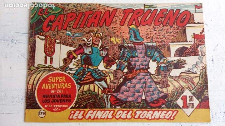 Tebeos: EL CAPITÀN TRUENO ORIGINAL AÑO 1956 COMPLETA Y SUELTA 1 AL 618 - VER TODAS LAS PORTADAS, MUY BUENA - Foto 540 - 204841075