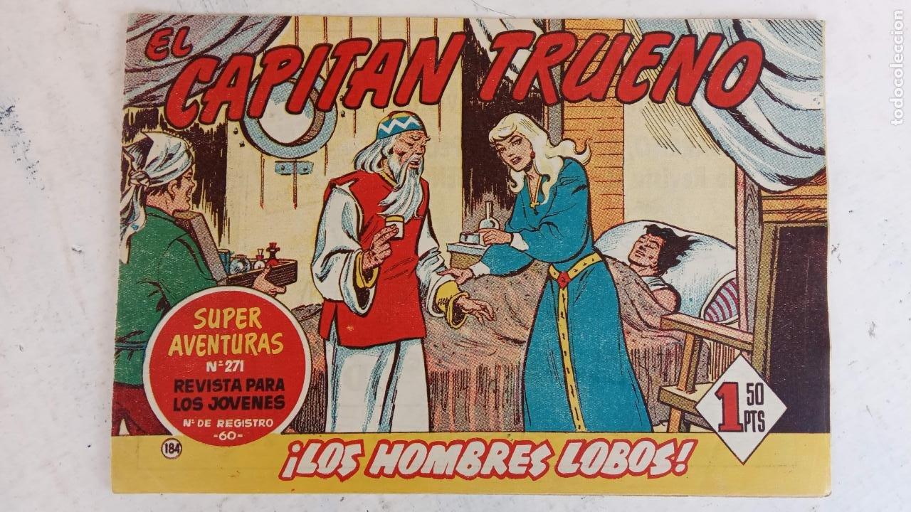 Tebeos: EL CAPITÀN TRUENO ORIGINAL AÑO 1956 COMPLETA Y SUELTA 1 AL 618 - VER TODAS LAS PORTADAS, MUY BUENA - Foto 545 - 204841075