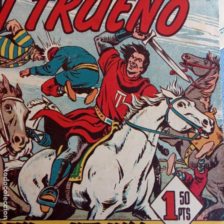Tebeos: EL CAPITÀN TRUENO ORIGINAL AÑO 1956 COMPLETA Y SUELTA 1 AL 618 - VER TODAS LAS PORTADAS, MUY BUENA - Foto 552 - 204841075