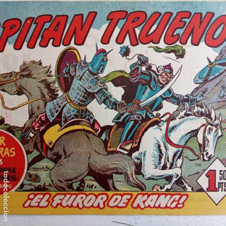 Tebeos: EL CAPITÀN TRUENO ORIGINAL AÑO 1956 COMPLETA Y SUELTA 1 AL 618 - VER TODAS LAS PORTADAS, MUY BUENA - Foto 555 - 204841075