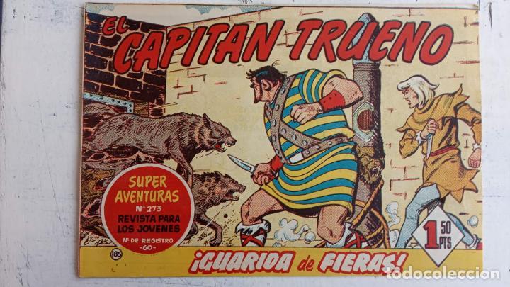 Tebeos: EL CAPITÀN TRUENO ORIGINAL AÑO 1956 COMPLETA Y SUELTA 1 AL 618 - VER TODAS LAS PORTADAS, MUY BUENA - Foto 556 - 204841075