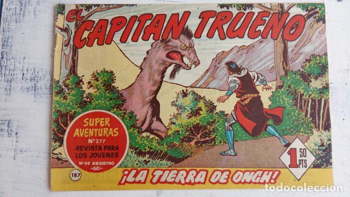 Tebeos: EL CAPITÀN TRUENO ORIGINAL AÑO 1956 COMPLETA Y SUELTA 1 AL 618 - VER TODAS LAS PORTADAS, MUY BUENA - Foto 558 - 204841075