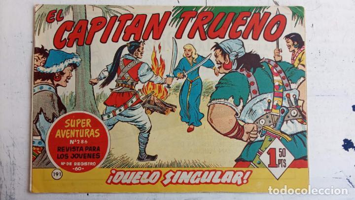 Tebeos: EL CAPITÀN TRUENO ORIGINAL AÑO 1956 COMPLETA Y SUELTA 1 AL 618 - VER TODAS LAS PORTADAS, MUY BUENA - Foto 562 - 204841075