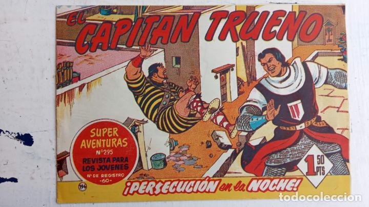 Tebeos: EL CAPITÀN TRUENO ORIGINAL AÑO 1956 COMPLETA Y SUELTA 1 AL 618 - VER TODAS LAS PORTADAS, MUY BUENA - Foto 565 - 204841075