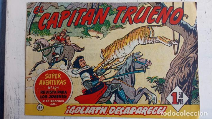 Tebeos: EL CAPITÀN TRUENO ORIGINAL AÑO 1956 COMPLETA Y SUELTA 1 AL 618 - VER TODAS LAS PORTADAS, MUY BUENA - Foto 567 - 204841075