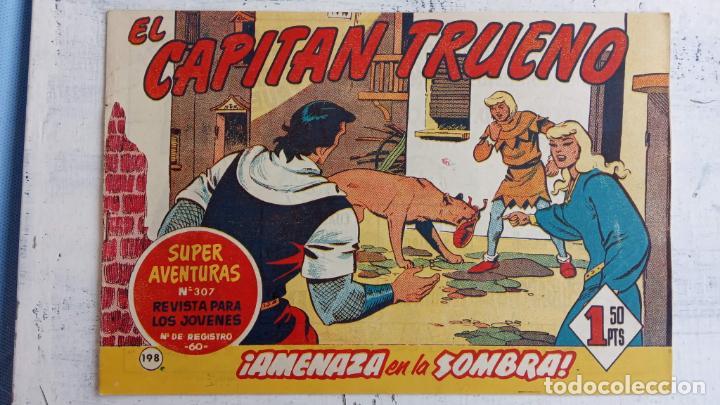 Tebeos: EL CAPITÀN TRUENO ORIGINAL AÑO 1956 COMPLETA Y SUELTA 1 AL 618 - VER TODAS LAS PORTADAS, MUY BUENA - Foto 568 - 204841075