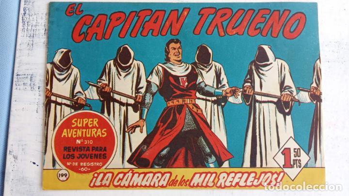 Tebeos: EL CAPITÀN TRUENO ORIGINAL AÑO 1956 COMPLETA Y SUELTA 1 AL 618 - VER TODAS LAS PORTADAS, MUY BUENA - Foto 569 - 204841075