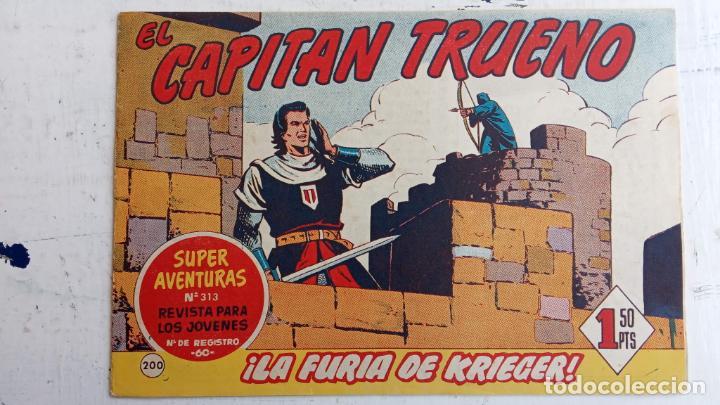 Tebeos: EL CAPITÀN TRUENO ORIGINAL AÑO 1956 COMPLETA Y SUELTA 1 AL 618 - VER TODAS LAS PORTADAS, MUY BUENA - Foto 570 - 204841075