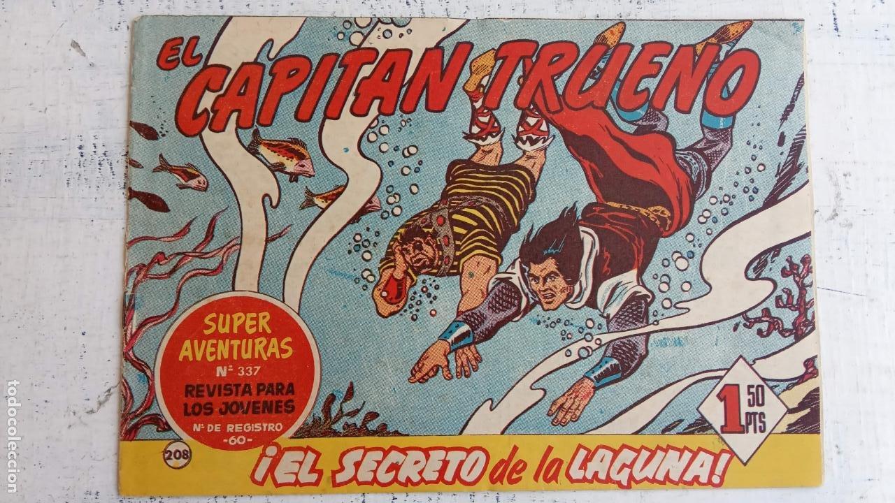Tebeos: EL CAPITÀN TRUENO ORIGINAL AÑO 1956 COMPLETA Y SUELTA 1 AL 618 - VER TODAS LAS PORTADAS, MUY BUENA - Foto 577 - 204841075