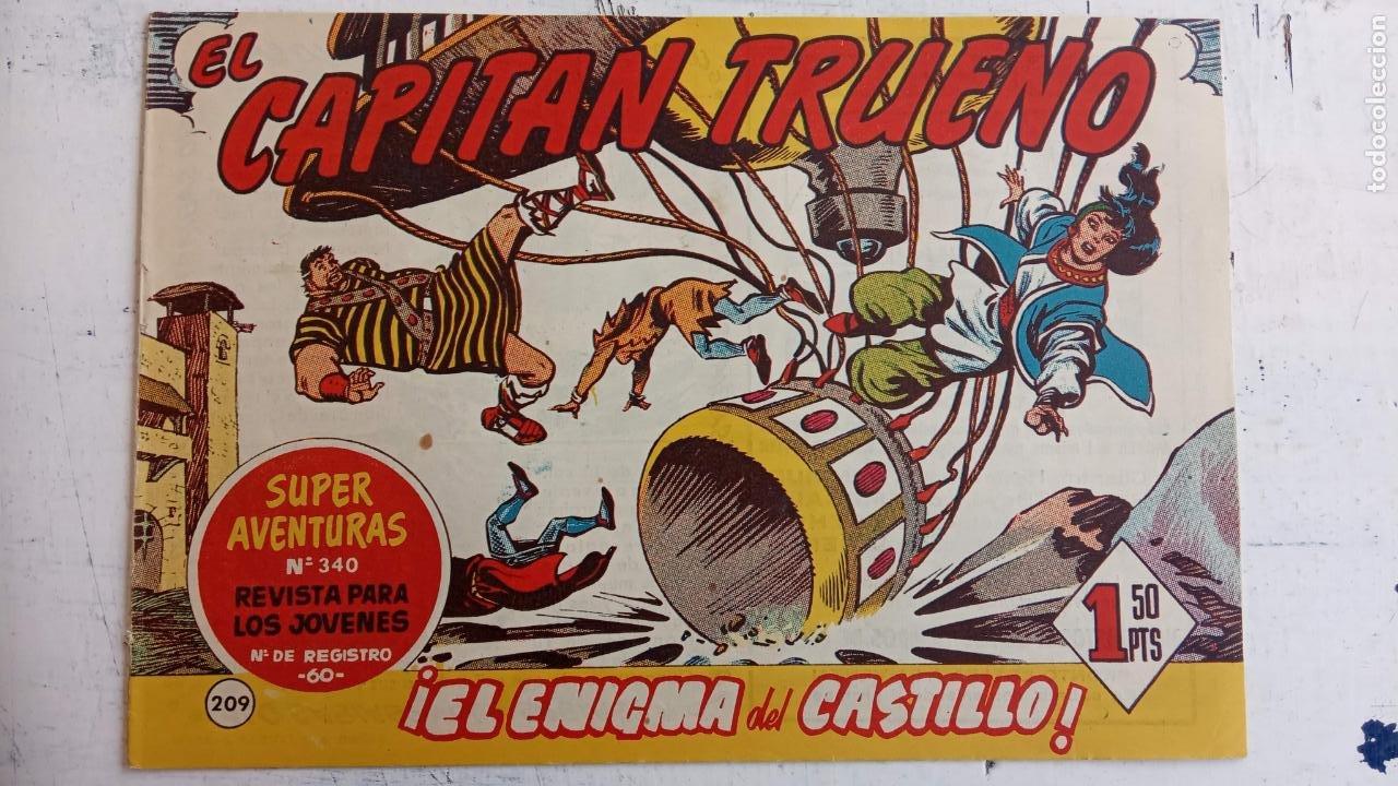 Tebeos: EL CAPITÀN TRUENO ORIGINAL AÑO 1956 COMPLETA Y SUELTA 1 AL 618 - VER TODAS LAS PORTADAS, MUY BUENA - Foto 578 - 204841075