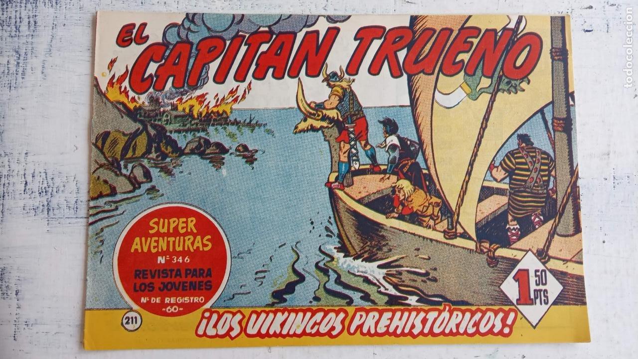 Tebeos: EL CAPITÀN TRUENO ORIGINAL AÑO 1956 COMPLETA Y SUELTA 1 AL 618 - VER TODAS LAS PORTADAS, MUY BUENA - Foto 580 - 204841075
