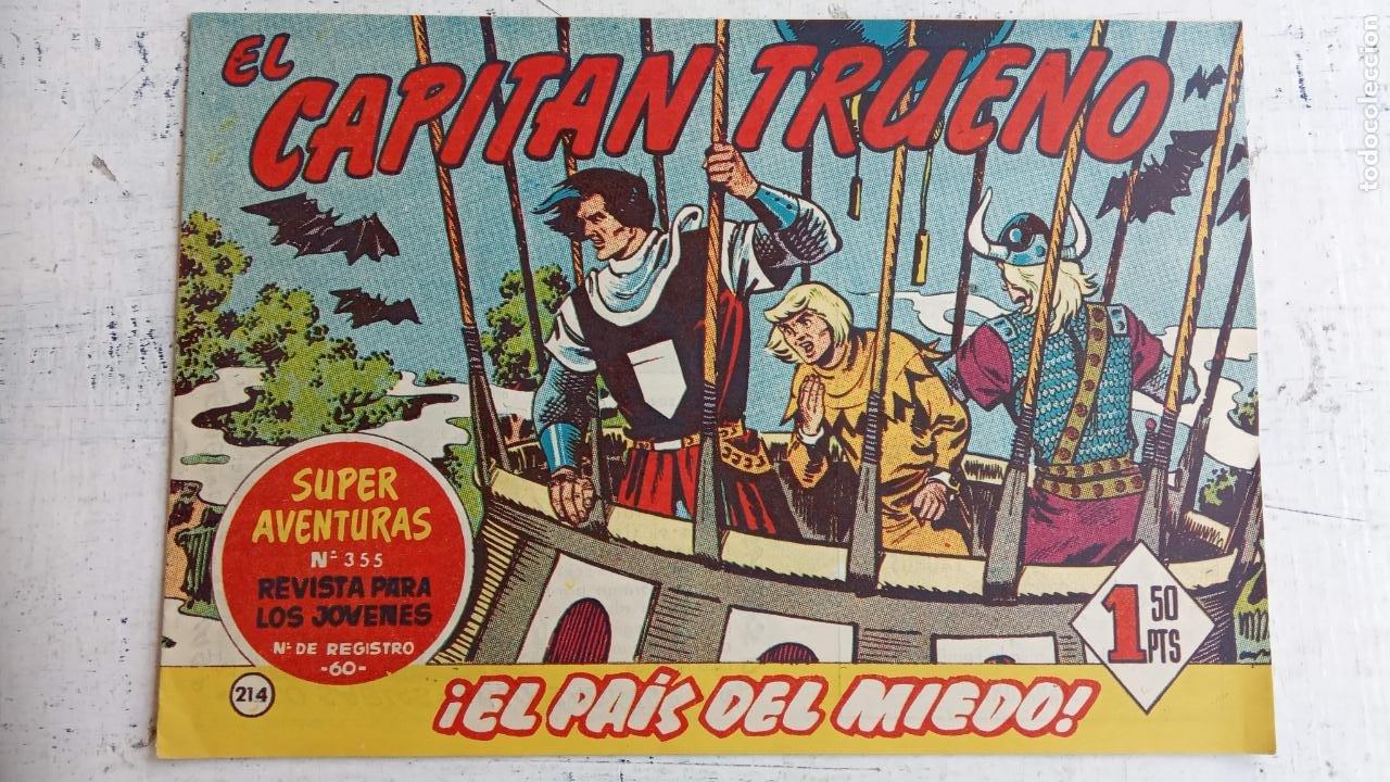 Tebeos: EL CAPITÀN TRUENO ORIGINAL AÑO 1956 COMPLETA Y SUELTA 1 AL 618 - VER TODAS LAS PORTADAS, MUY BUENA - Foto 583 - 204841075