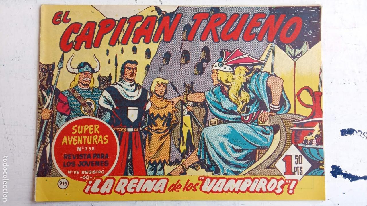 Tebeos: EL CAPITÀN TRUENO ORIGINAL AÑO 1956 COMPLETA Y SUELTA 1 AL 618 - VER TODAS LAS PORTADAS, MUY BUENA - Foto 584 - 204841075