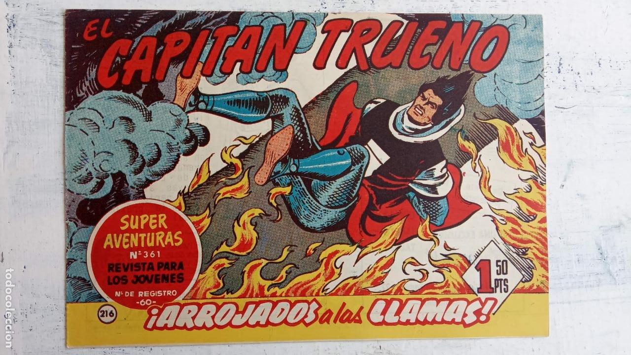Tebeos: EL CAPITÀN TRUENO ORIGINAL AÑO 1956 COMPLETA Y SUELTA 1 AL 618 - VER TODAS LAS PORTADAS, MUY BUENA - Foto 585 - 204841075